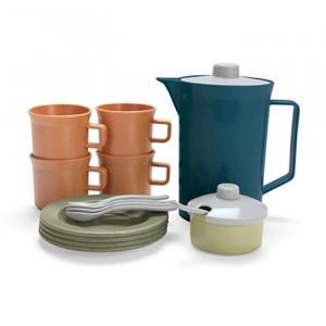 Dantoy BIO Koffie Servies Set Blauw