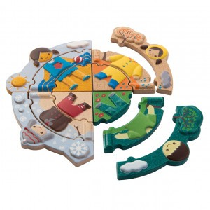 PlanToys Puzzel Weer