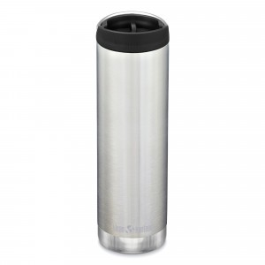 Klean Kanteen Thermosbeker TKWide met Café Cap (592 ml) Brushed Stainless