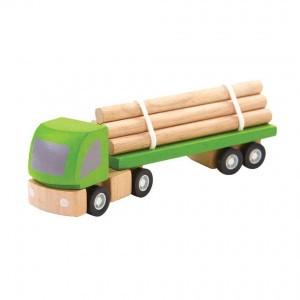 PlanToys Voertuigen Vrachtwagen voor boomvervoer