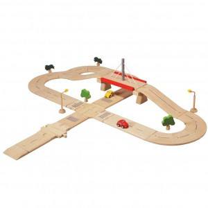 PlanToys Road System (Deluxe)