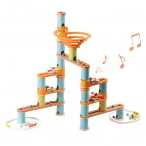 Bamboo Planet Knikkerbaan Musical Kit (98 stuks)