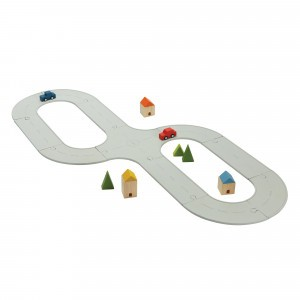 PlanToys Road & Rail Rubber