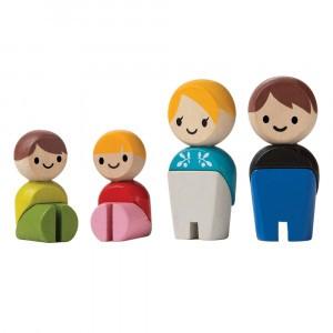 PlanToys Poppetjes Familie