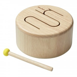 PlanToys Muziek Drum Naturel