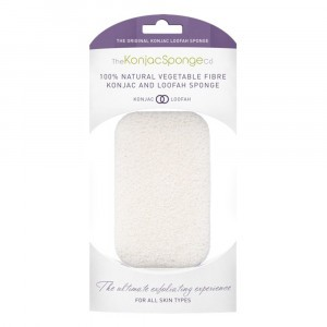 The Konjac Sponge co. Konjac en Loofah Reinigingsspons Lichaam