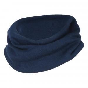 Engel Wol-Zijde Colsjaal Fine Rib Marineblauw