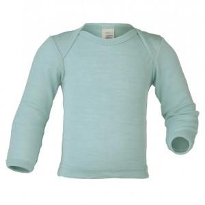 Engel Wollen Shirt lange mouw Blauw (maat 62-68)
