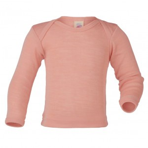 Engel Wollen Shirt lange mouw Roze (maat 86-92)