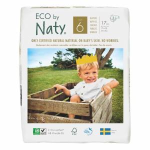 Naty Eco Wegwerpluiers Maat 6 (17 stuks)