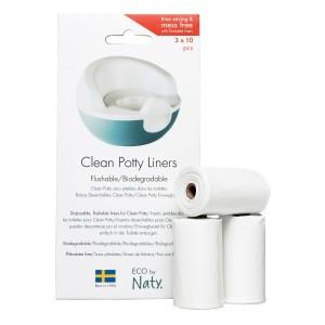 Naty Eco Potje Liners (3 x 10 stuks)