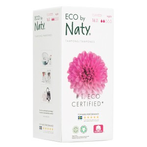 Naty Eco Tampons Regular met Applicator