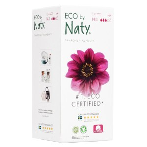 Naty Eco Tampons Super met Applicator