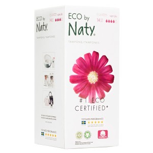Naty Eco Tampons Super Plus met Applicator