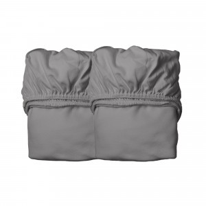 Leander Hoeslaken Juniorbed (70 x 140 cm) 2-pack, Cool Grey