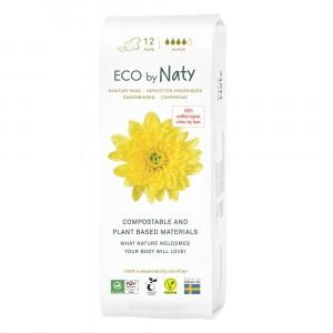 Naty Eco Maandverband Super (12 stuks)