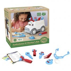 Green Toys Ambulance & Dokter