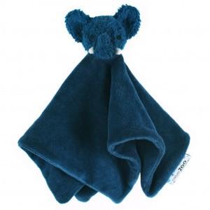 natureZOO Knuffeldoekje Olifant Blauw