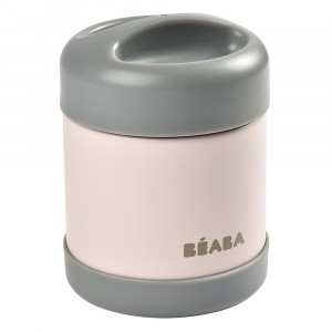 Beaba RVS Thermosbox (300 ml) Dark Mist/Light Pink