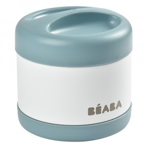 Beaba RVS Thermosbox (500 ml) Baltic Blue/White
