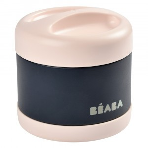 Beaba RVS Thermosbox (500 ml) Light Pink/Night Blue