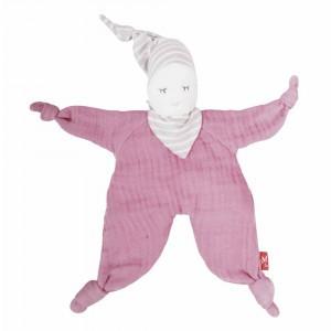 Kikadu Knuffelpopje Pink