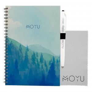 Moyu Uitwisbaar Notitieboek Ringband A5 - Misty Mountain