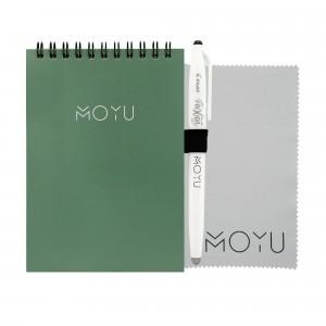 Moyu Uitwisbaar Notitieboek Notepad Ringband A6 - Go Green