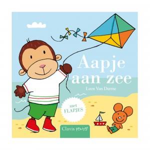 Clavis Leesboekje Aapje aan zee