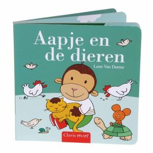 Clavis Leesboekje Aapje en de dieren