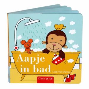 Clavis Leesboekje Aapje in bad