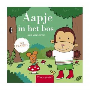 Clavis Leesboekje Aapje in het bos