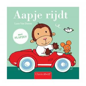 Clavis Leesboekje Aapje rijdt