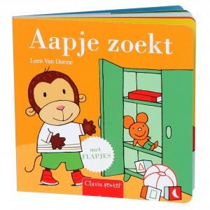 Clavis Leesboekje Aapje Zoekt