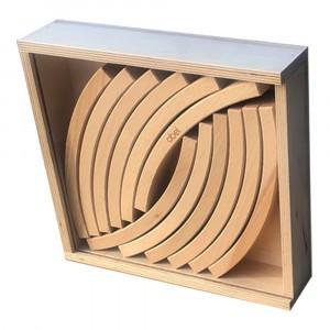 Abel Blocks Houten Bouwblokken (12 stuks)