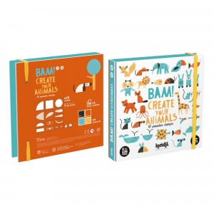 Londji Arts & Crafts BAM! 'Create Your Animals' Stempelset