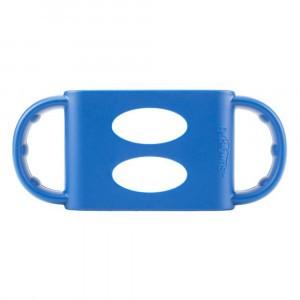 Dr. Brown's Silicone Handvatten Brede Hals Fles - Blauw
