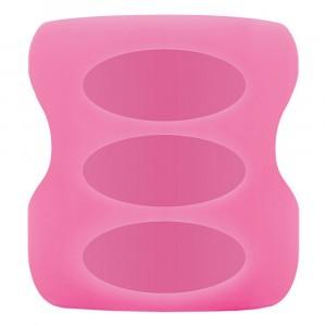 Dr. Brown's Beschermhoes Brede Hals Fles Glas (150ml) Roze