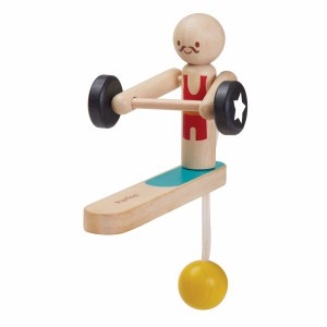 PlanToys Speelfiguur Body Building Acrobaat