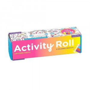 Mudpuppy Activity Roll Unicorn Magic