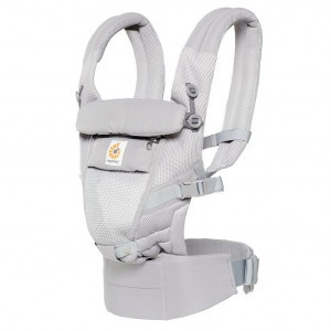 Ergobaby Babydraagzak 3P Adapt Cool Air Mesh Pearl Grey