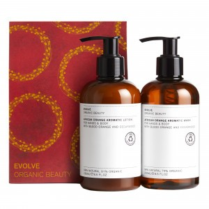 Evolve Cadeauset African Orange Aromatic Infusions