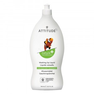 Attitude Afwasmiddel Green Apple & Basil (700ml)