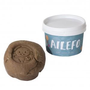 Ailefo Organische Speelklei Bruin (540g)