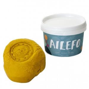 Ailefo Organische Speelklei Geel (540g)