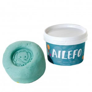 Ailefo Organische Speelklei Turquoise (540g)