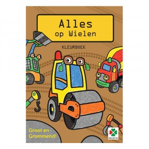 Selecta Kleurboek Alles op Wielen