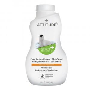 Attitude Allesreiniger Vloer Tegels & Hout Citrus Zest (1,05L)
