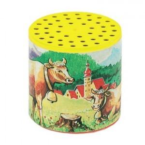 Janod Traditionele loeidoos koeien in de wei geel