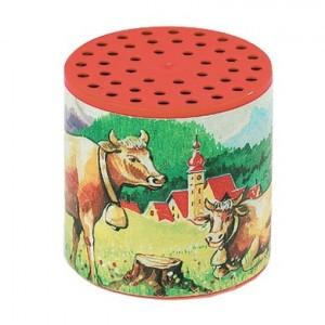 Janod Traditionele loeidoos koeien in de wei rood